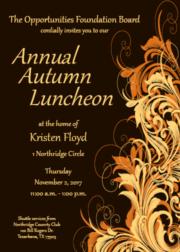 Autumn Luncheon